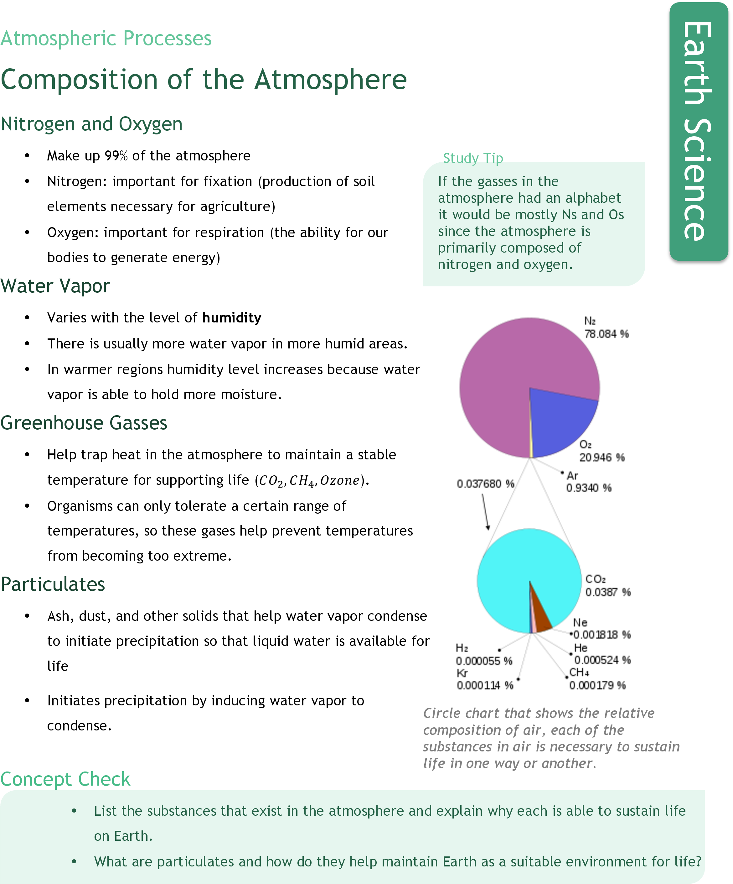 composition ck 12 foundation rh ck12 org earth's atmosphere study guide chapter 14 earth science chapter 11 atmosphere study guide answers