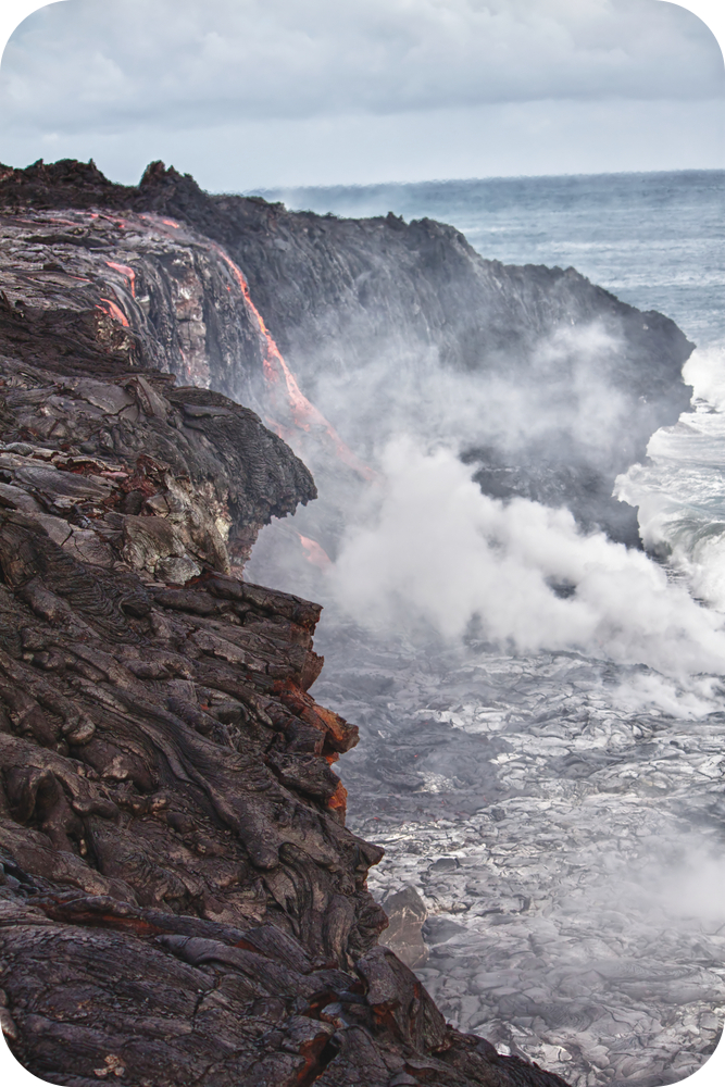 Volcanoes at Hotspots