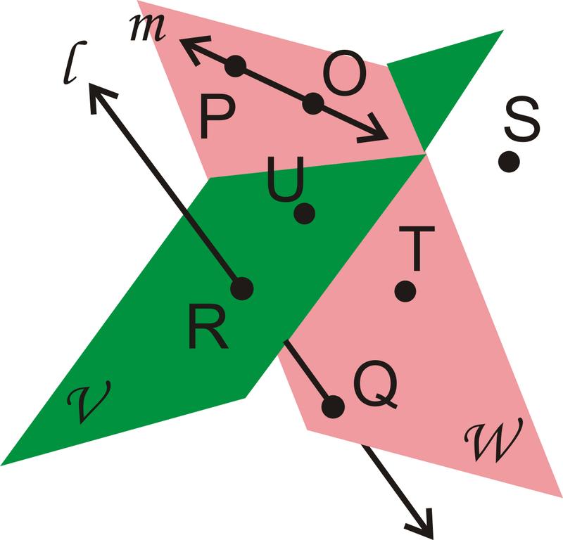 2cb05df8db83 Is line  begin align  l end align   coplanar with Plane   begin align   mathcal V  end align