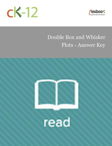 Double Box and Whisker Plots - Answer Key