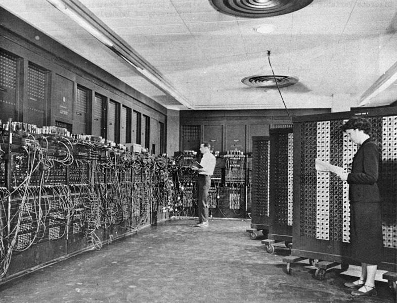 First digital computer ENIAC