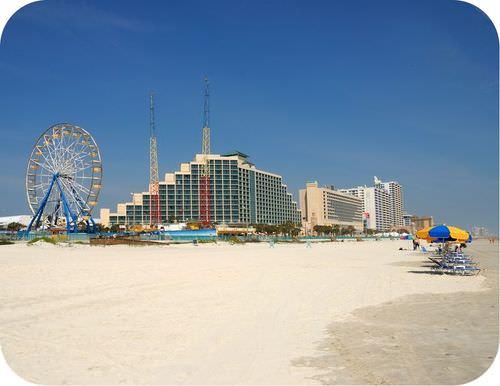 Daytona Beach is Florida is a passive margin