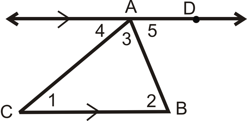 Triangle Angle Sum Theorem ( Read ) | Geometry | CK-12 Foundation