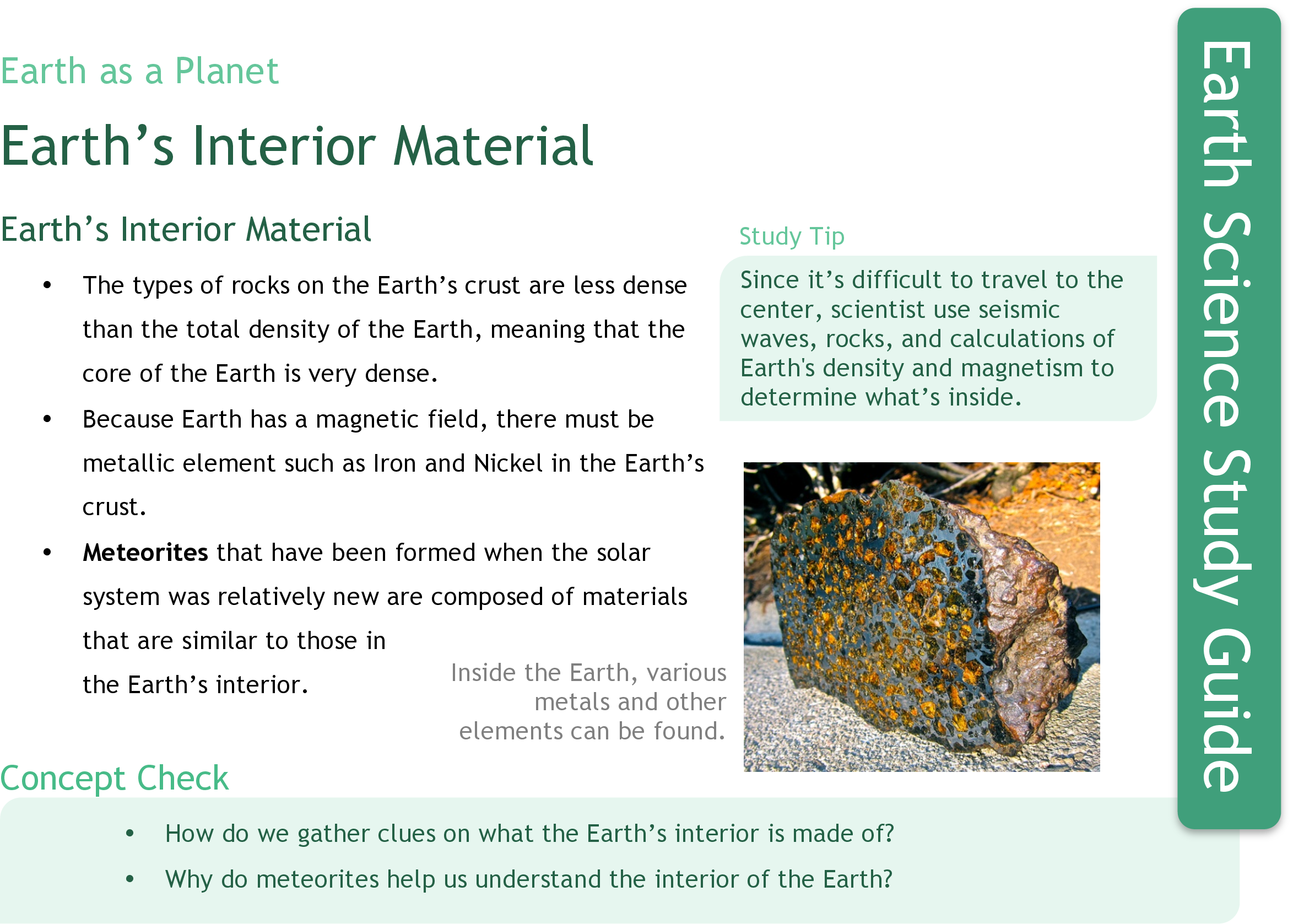 Earths Interior Ck 12 Foundation Image Of A Diagram Showing The Earth Please Have Material Study Guide