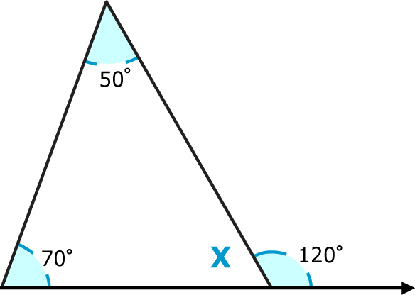 Triangle sum theorem read geometry ck 12 foundation - Sum of the exterior angles of a triangle ...