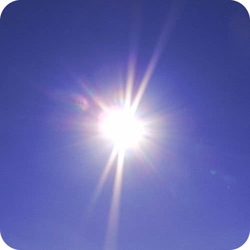 The sun is a medium sized star in the middle of its life