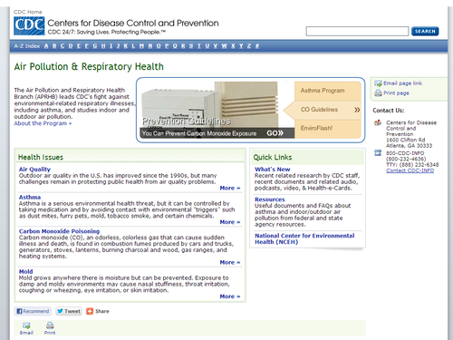 Air Pollution & Respiratory Health