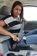 Wearing a seat belt is important because of inertia