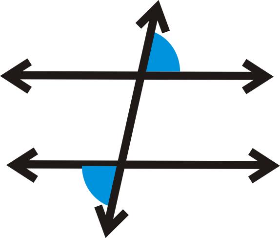 Alternate Exterior Angles Theorem Alternate Exterior Angles  Read   Geometry  Ck12 Foundation