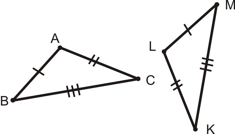 Sss Triangle Congruence Read Geometry Ck 12 Foundation