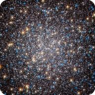 Globular cluster M13 contain both red and blue giant stars