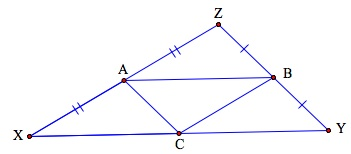 Midsegments of a triangle   CK-12 Foundation