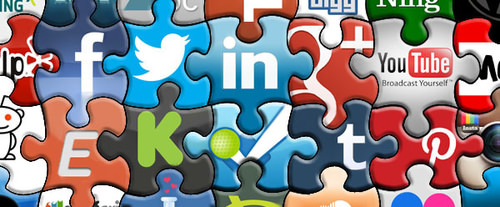social media jigsaw picture.