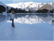 Beautiful lake in early winter. [1]