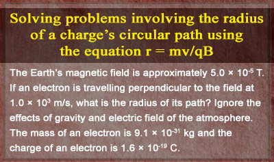 Magnetic Forces on Moving Charges - Example 2