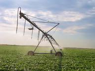 Overhead irrigation system