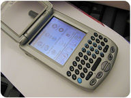 A modern cell phone.