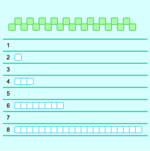 Visual Patterns: Finding the Next Term in a Sequence
