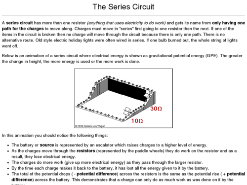 The Series Circuit