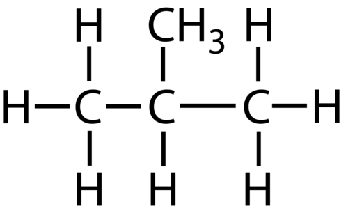 Example of a branched alkane