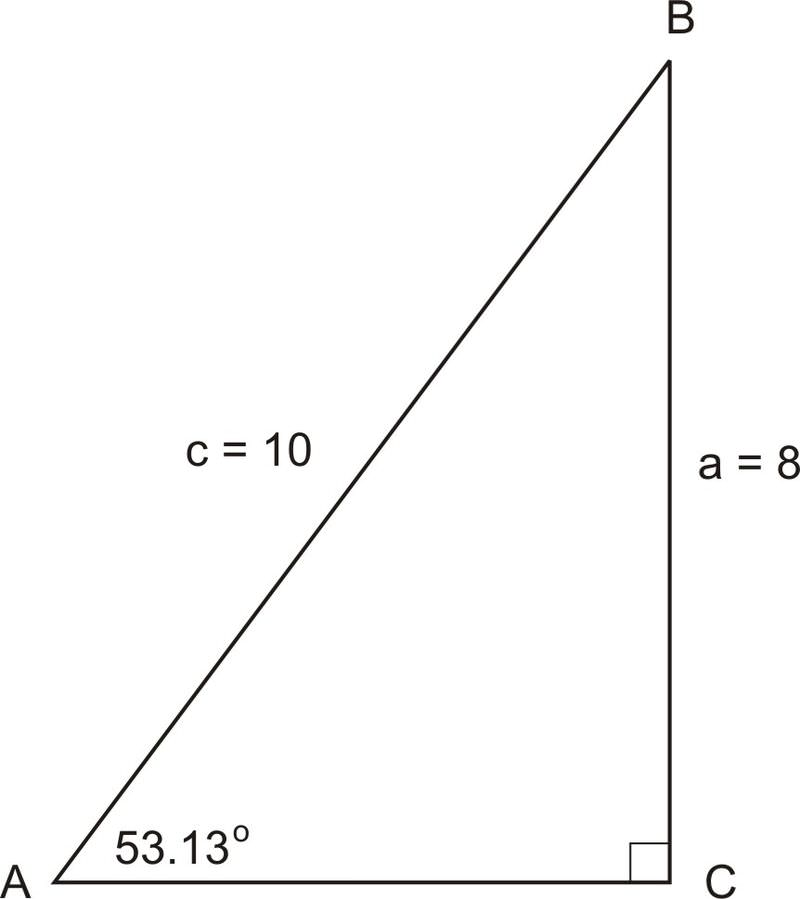 Solving Right Triangles – Solving Right Triangles Worksheet