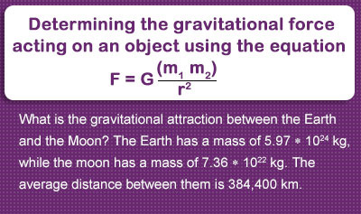 Newton's Law of Gravitation - Example 2