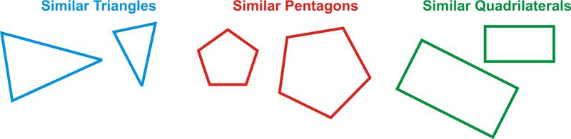similar polygons ck12 foundation