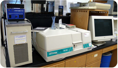 Image of a spectrophotometer