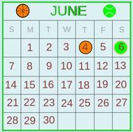 Common Multiples: Sports Calendar