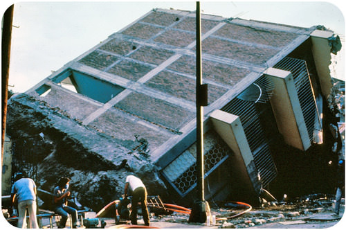 Liquefaction of sediments in Mexico City caused the collapse of many buildings in the 1985 earthquake