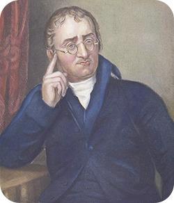 Portrait of John Dalton