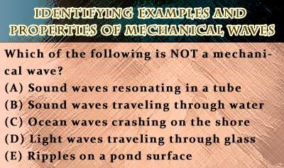 Mechanical and Electromagnetic Waves - Example 1