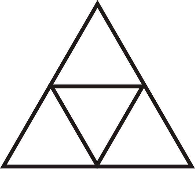 Area and perimeter of similar polygons ck 12 foundation what is the ratio of the areas of the large triangle to one of the small triangles ccuart Choice Image