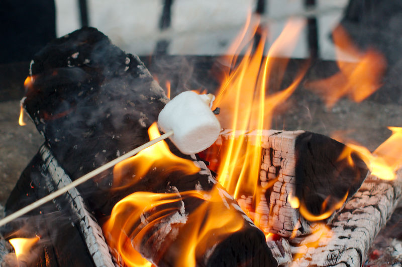 Did You Ever Toast Marshmallows Over A Campfire The Sweet Treats Singe On Outside And Melt Inside Both Fire Toasted