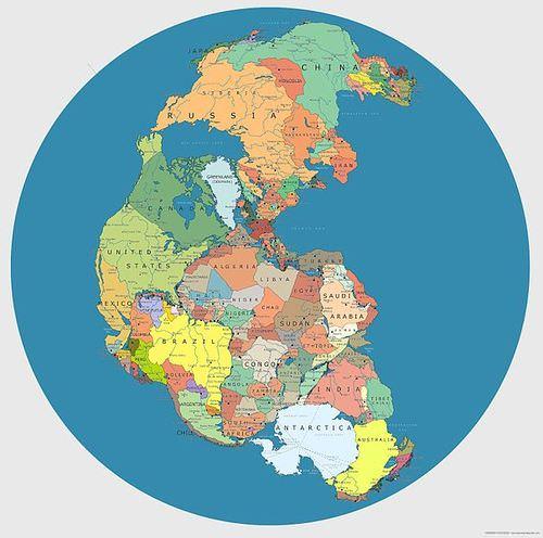 Mesozoic plate tectonics real world earth science ck 12 pangaea gumiabroncs Gallery