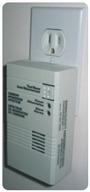 Home carbon monoxide detector