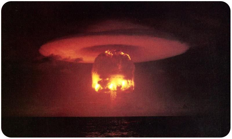 Castle-Romeo nuclear explosion