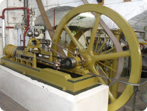 Model of Watt's steam engine