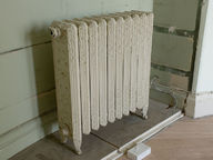 Metal radiators quickly heat up