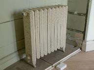 Metal radiators quickly heat up