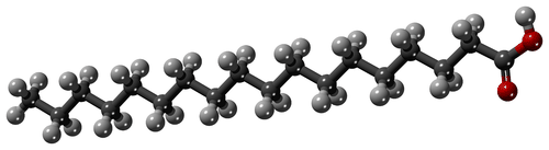 Structure of stearic acid