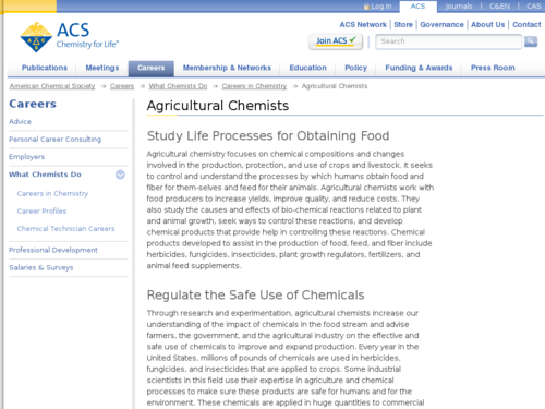 Agricultural Chemists