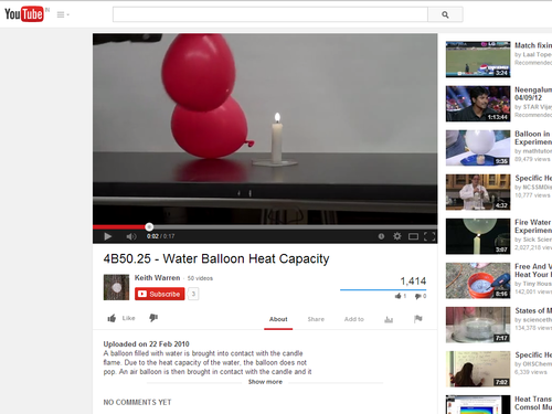 Water Balloon Heat