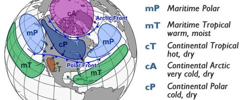 Air Masses ( Read ) | Earth Science | CK-12 Foundation