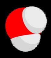 Diagram of a water molecule