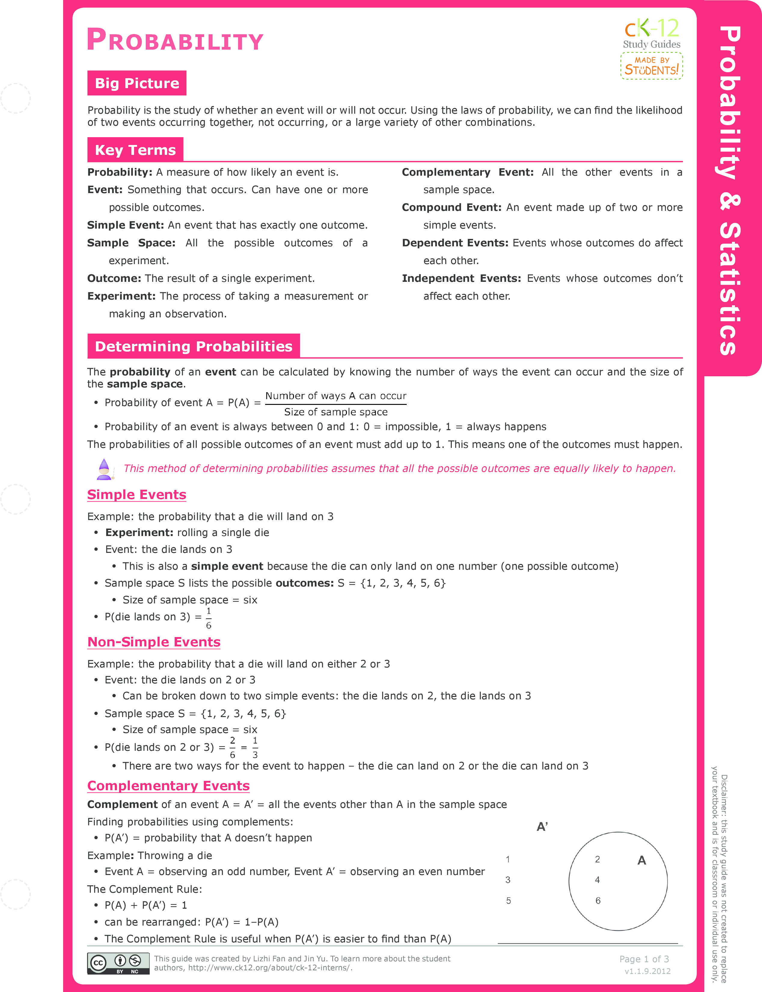 worksheet Compound Events Worksheet conditional probability ck 12 foundation study guide