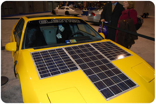 Picture of a solar car