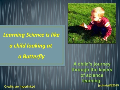 Studying Science is Like a child looking at a Butterfly