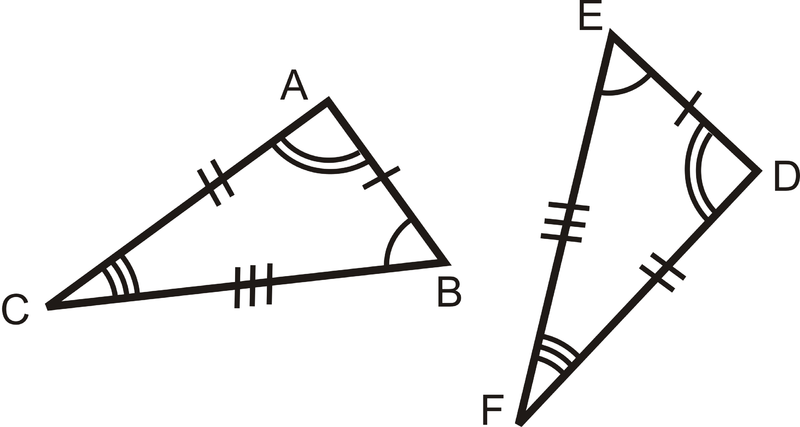 In Other Words, Two Triangles Are Congruent If You Can Turn, Flip, And/or  Slide One So It Fits Exactly On The Other.