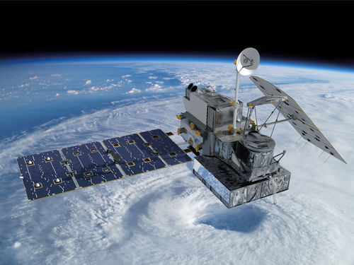 Picture of an Earth observation satellite